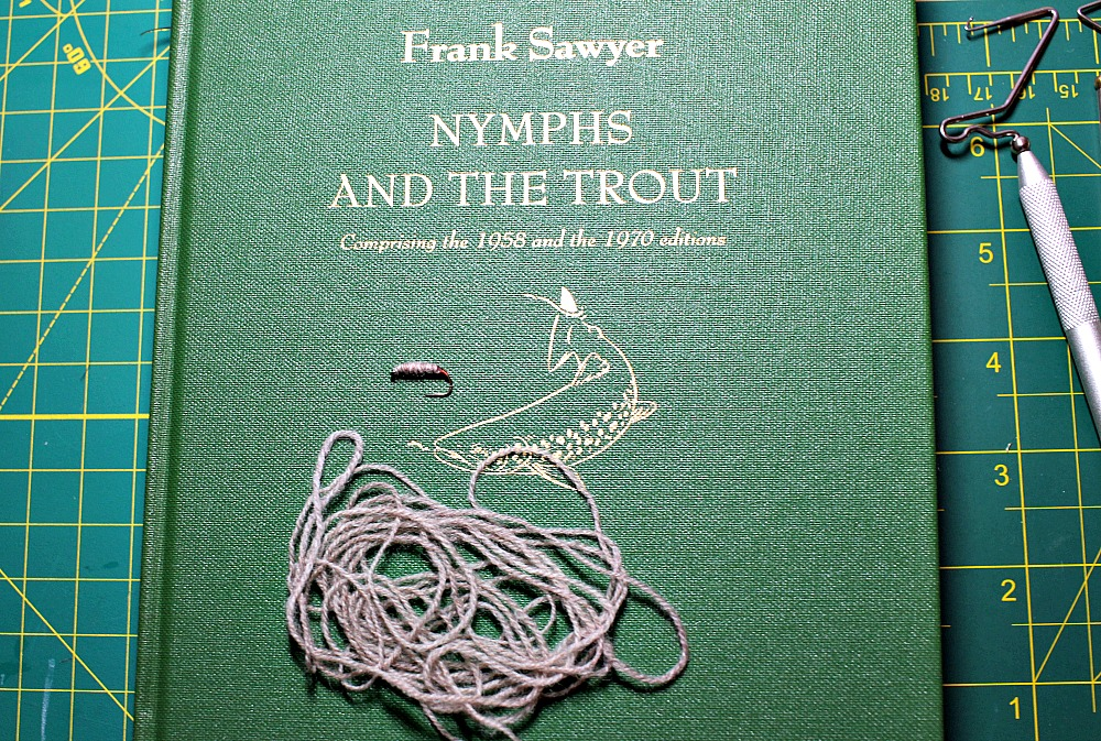 Book cover: Frank Sawyer's Nymphs and the Trout