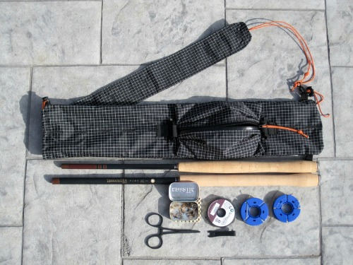 Ebira Guide. Rods and gear not included (and it will hold much more gear than that!).