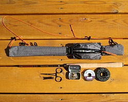 Ebira rod quiver and gear that fits in the pouch.