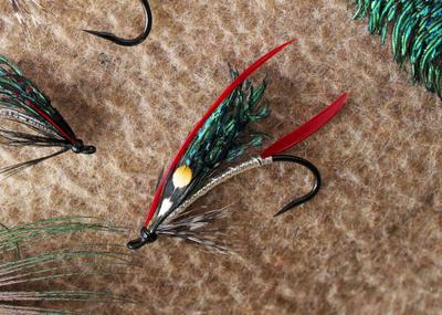 I never would have expected to tenkara fish with this fly.