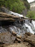 The beauiful waterfall