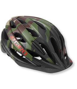 Camo bicycle helmet