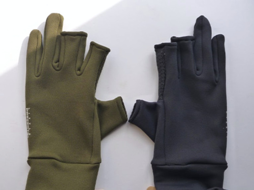 Little Presents Fishing Gloves - Olive and Black