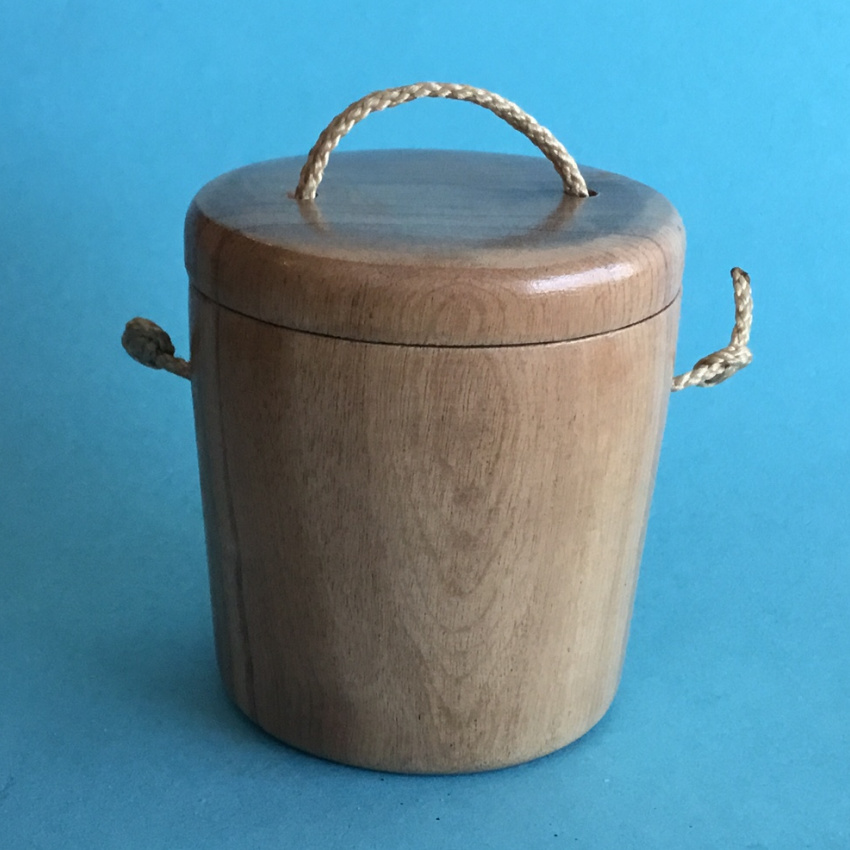 Les Albjerg's Myrtlewood bait box