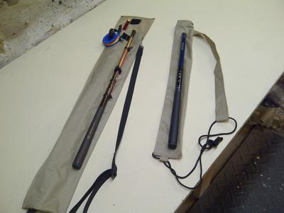 Pack cloth quivers