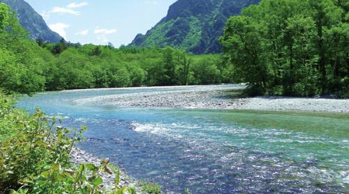 Clear Japanese stream