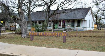 The Park Headquarters Building is an Old Ranch House