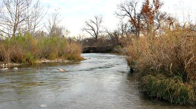 The South Llano is a Beautiful, free-flowing, Spring-fed River