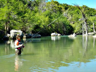 A kayak can help you access some prime tenkara spots.