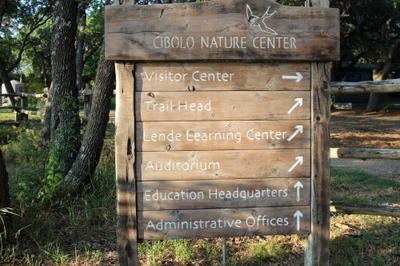 Entrance to Cibolo Creek Nature Center