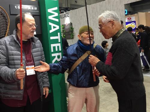 With Sebata san and Chairman Shiozawa