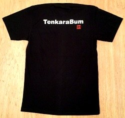 TenkaraBum black T-shirt
