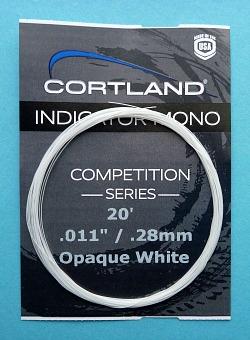 Cortland Indicator Mono<br> Opaque White