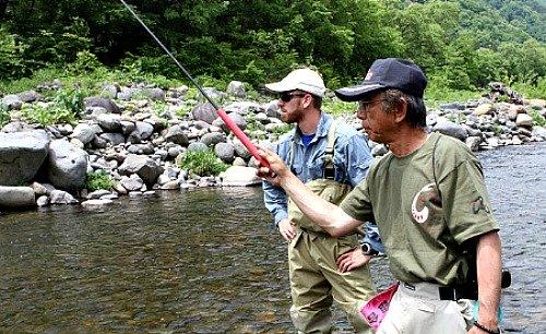 Daniel with Sakakibara-sensei in Japan