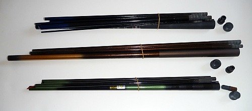 Disassembled rods