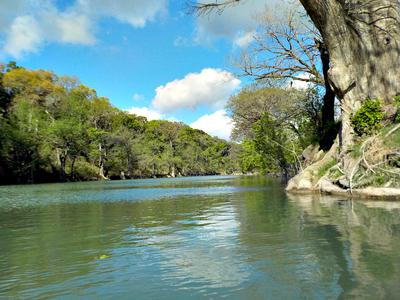 One of My Favorite Fishing Spots: The Upper Guadalupe River Just North of San Antonio