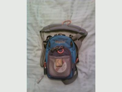 San Juan Vertical Chest Pack with Neck Strap
