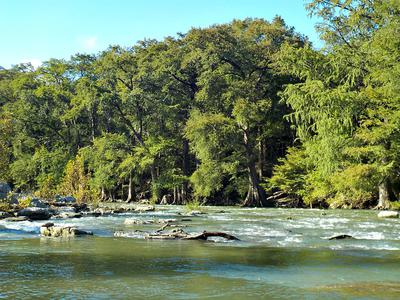 Over a foot of rain fell on the Upper Guadalupe River during September.