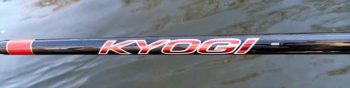 Kyogi name on rod