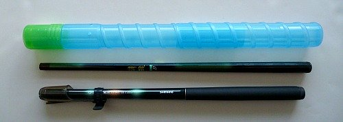 Small Rod Case and two keiryu rods