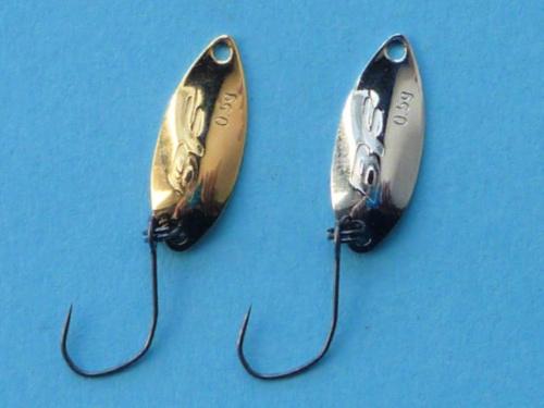 Three Daiwa Presso Vega spoons.