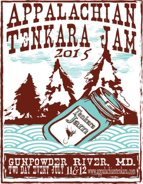 Appalachian Tenkara Jam 2015 poster
