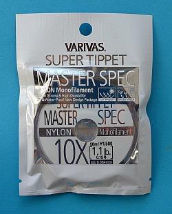 Varivas Supper Tippet Master Spec 10X tippet