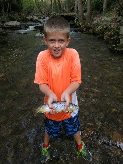Wyatt's brown trout